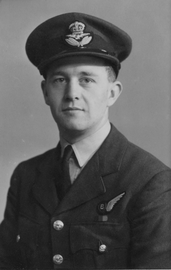 A portrait of Dad, I believe taken after he was commissioned in late 1943.