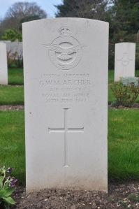 ARCHER, George Walter Matthew. RAFVR