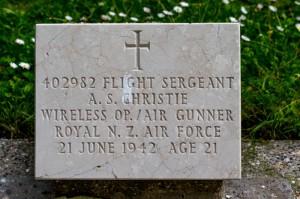 nzwargraves.org.nz/casualties/arthur-stafford-christie © New Zealand War Graves Project