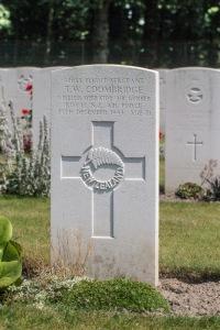nzwargraves.org.nz/casualties/trevor-walter-coombridge © New Zealand War Graves Project