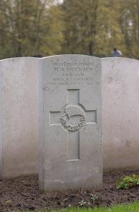 nzwargraves.org.nz/casualties/mervin-arthur-ericksen © New Zealand War Graves Project