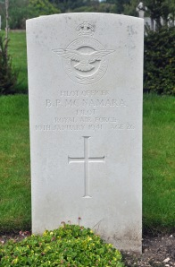 McNAMARA, Brian Patrick. RAF