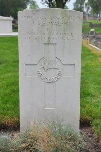 WALSH, John Arthur Ernest RNZAF