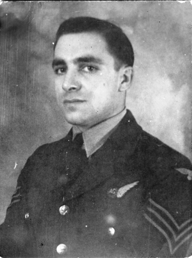 Reuben 'Ron' Birch RAF uniform