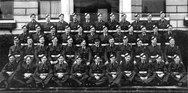 Initial Training Wing.Reuben, front row, middle