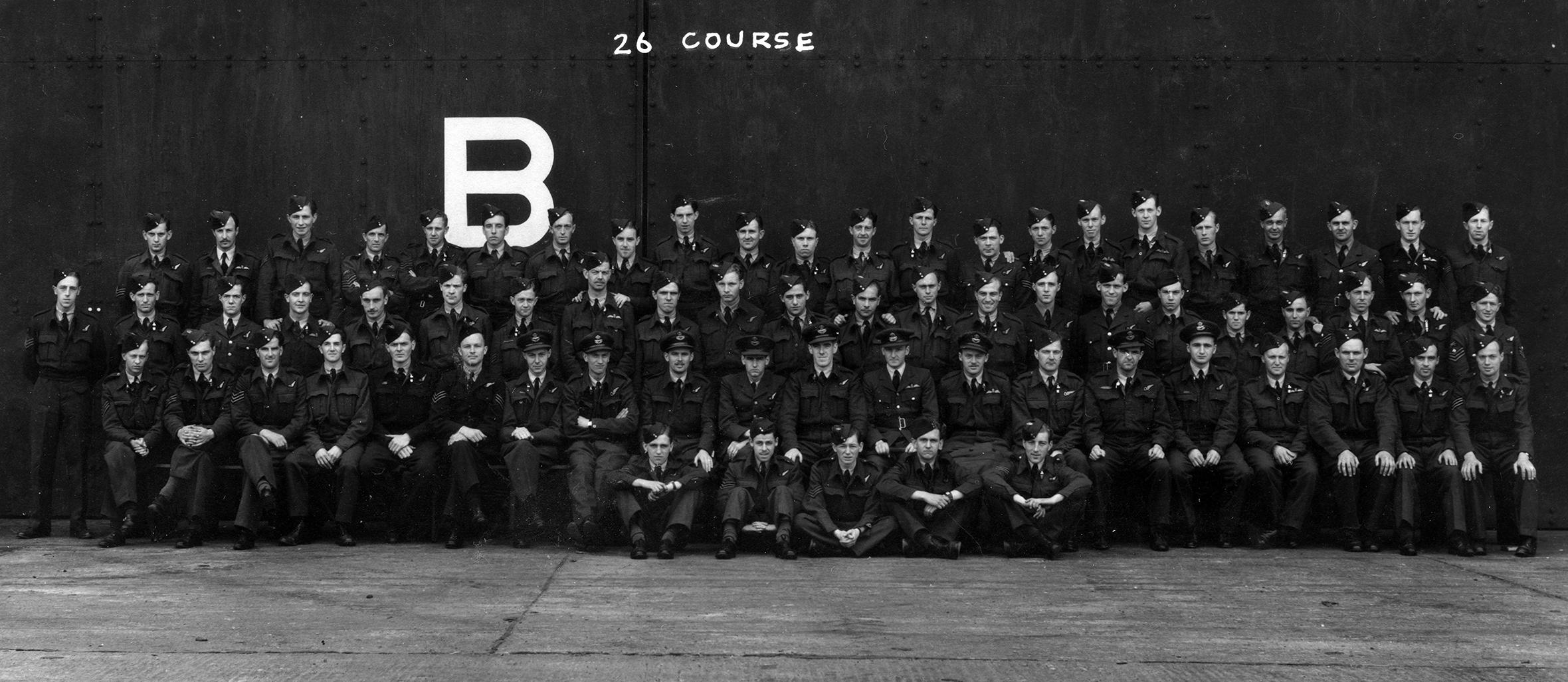 'B' Flight, 1651 Conversion Unit, Waterbeach, July 1943