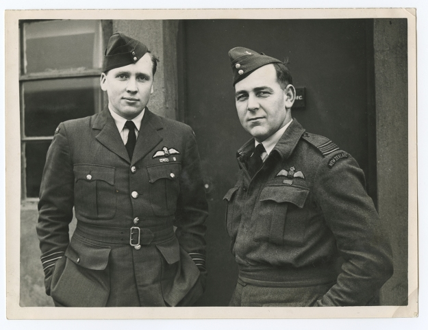 "BAIGENT, Wg Cdr Cyril Henry, DSO, DFC*, AFC, RNZAF. (NZ411973, 70038). Pilot, CO 6 Jan to 27 Sep 1945 RODGERS A/Sqn Ldr. John Robert DFC, DFM, RNZAF. (NZ413956) Pilot 20 Sep 1944 to 28 Mar 1945 ""B"" Flt Cmdr."