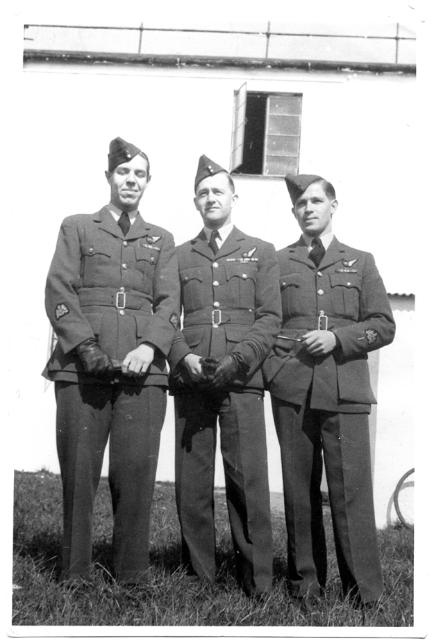 Jimmy, Mike and me, Bishops Court, April 1946.