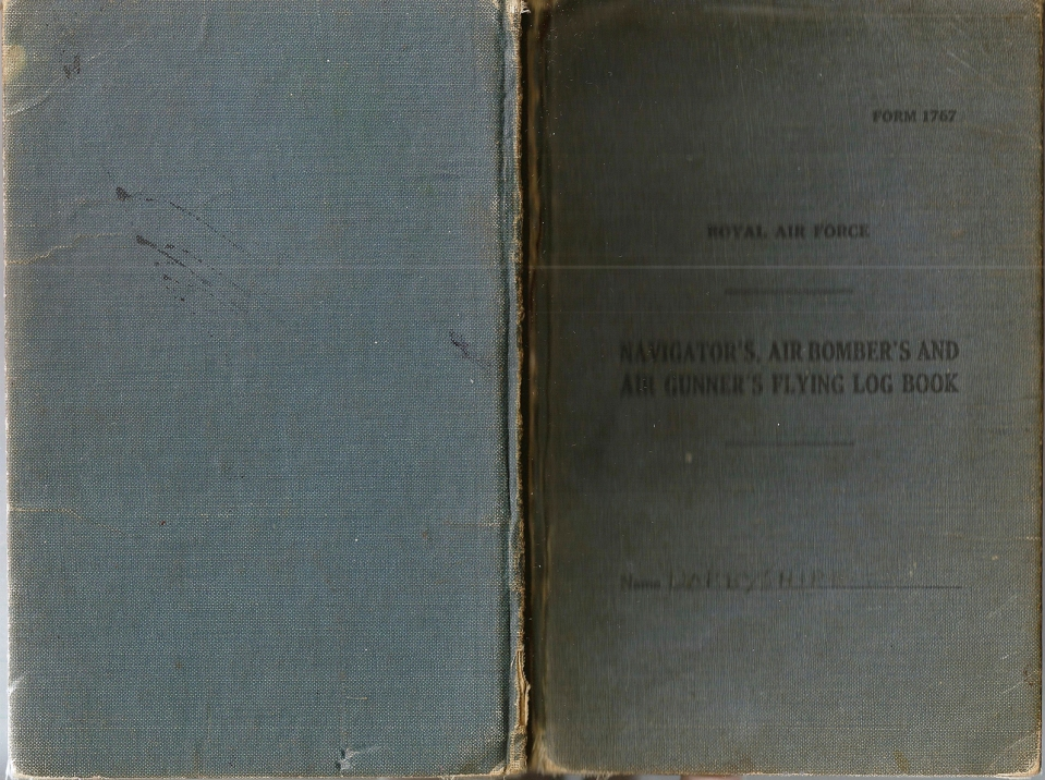 T Darbyshire Air Gunners Log Book 001