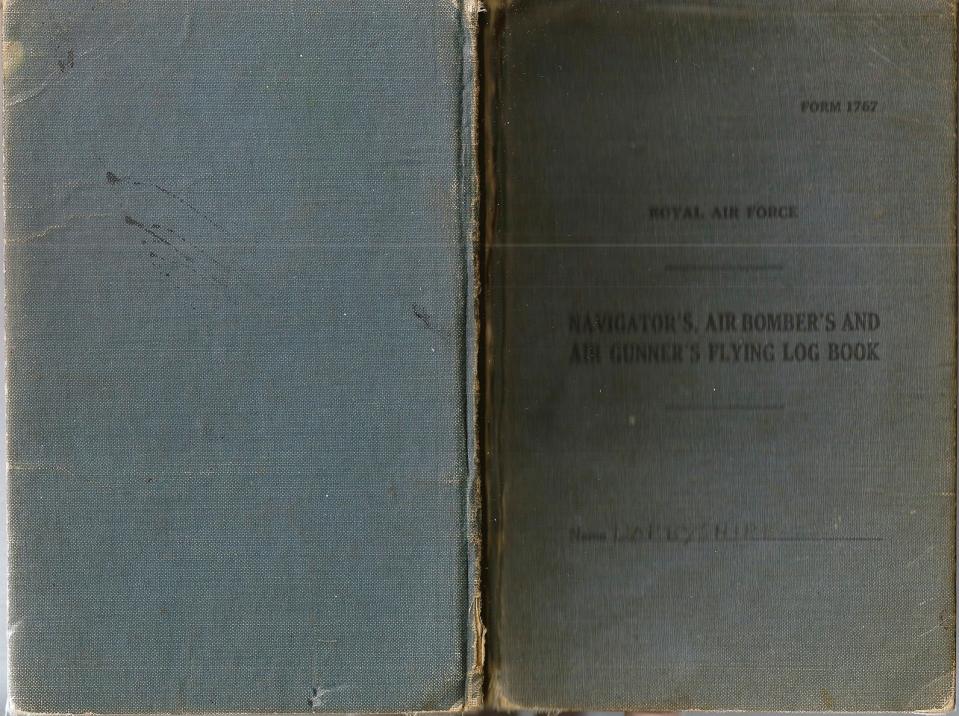 T Darbyshire Air Gunners Log Book 001