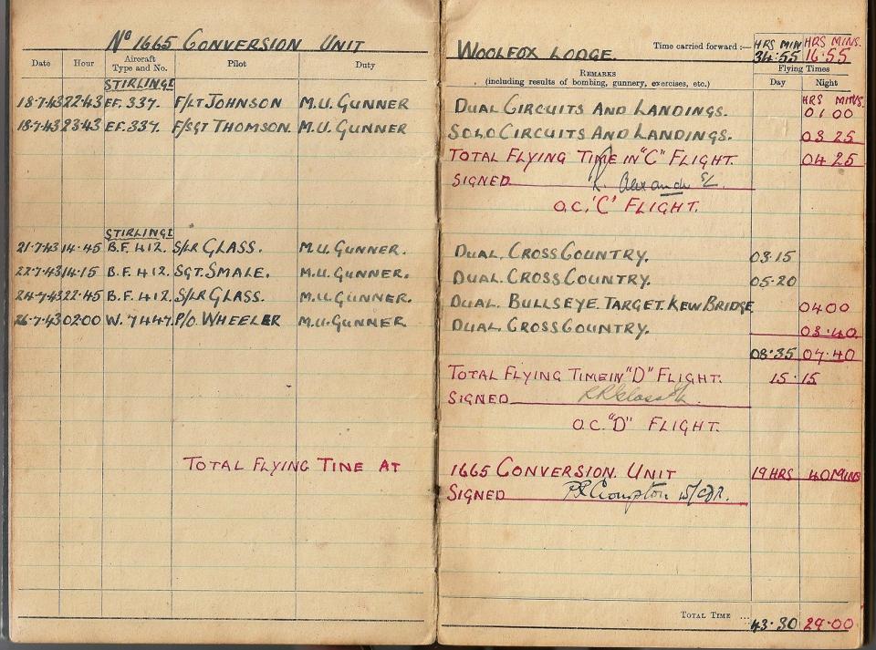 T Darbyshire Air Gunners Log Book 010