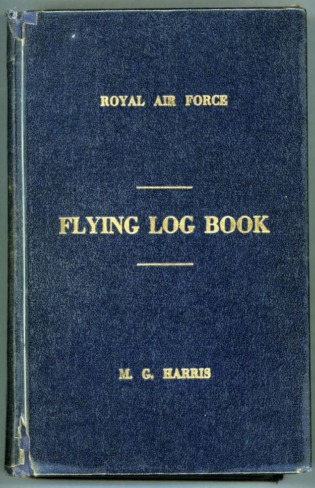 Harris - M G Flying Log 001