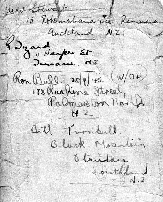 75 Squadron names reverse
