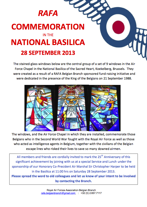 Poster - Commemoration in the National Basilica (comp)