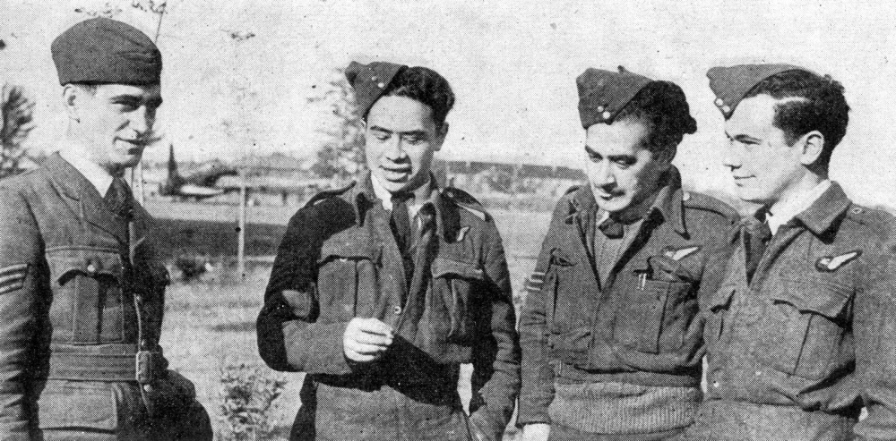 Maori aircrew serving with 75 (NZ) Squadron, 1939-45 (1/6)
