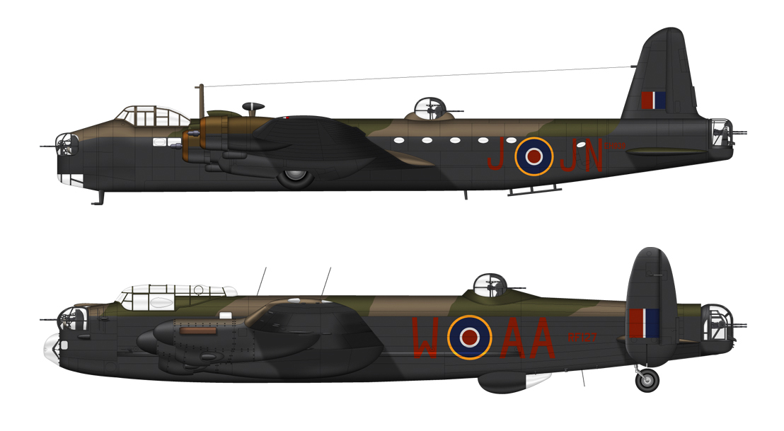 composite aircraft imageStirling and lanc only