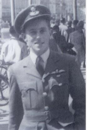David in uniform