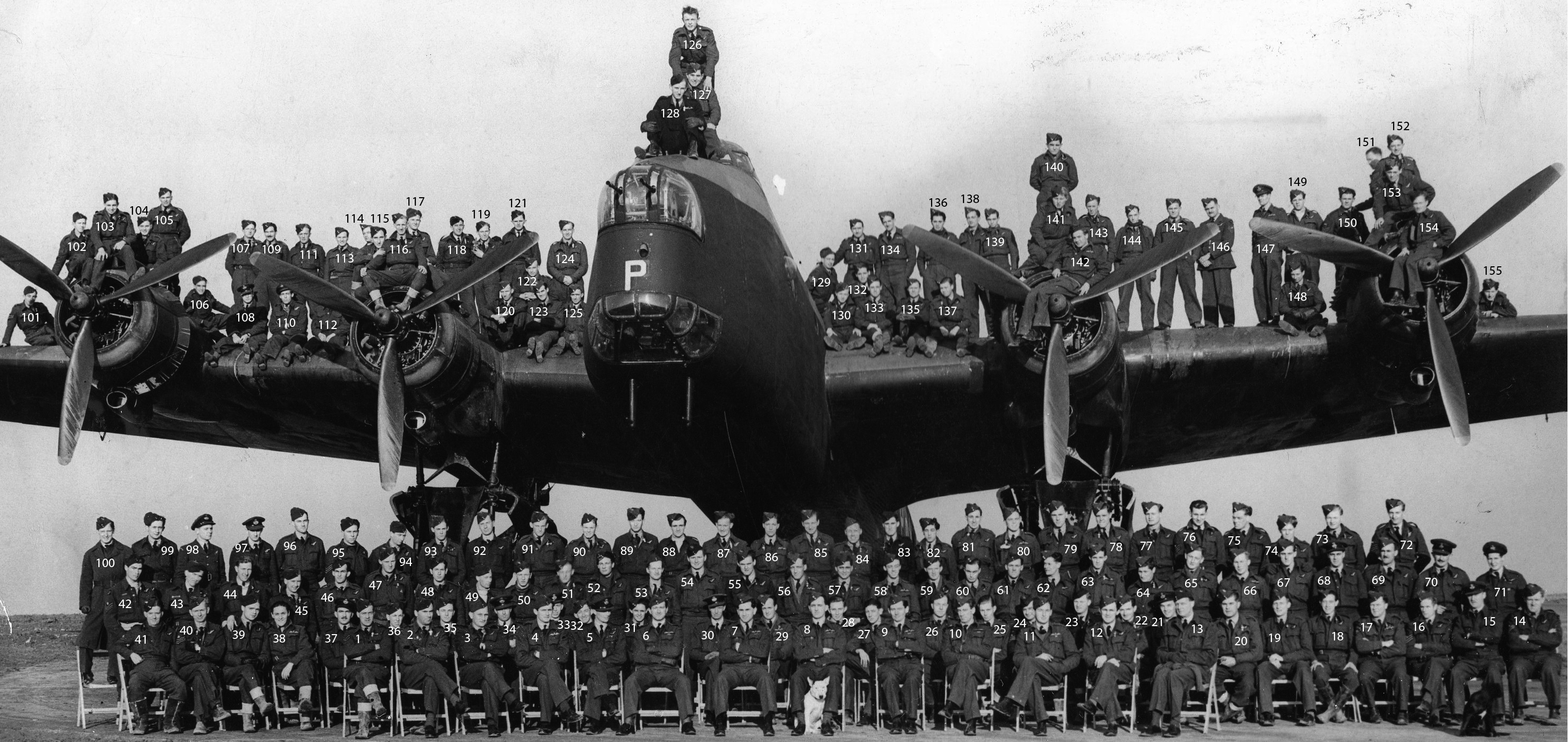 Full Squadron 1943 NUMBERED