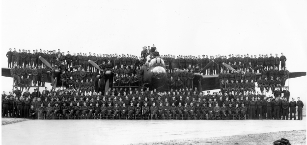 Full Squadron 1945 heald UNNUMBERED