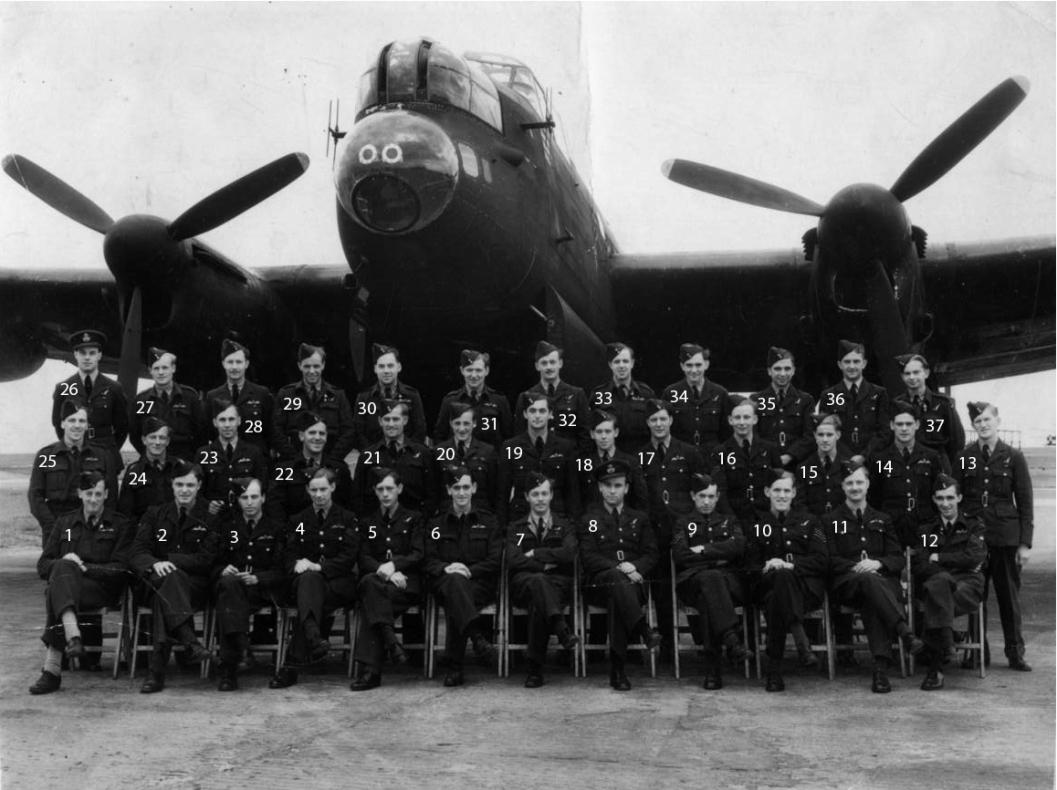 Pilot Engineers May 1945 numbers