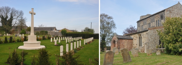 Feltwell ( St Nicholas) churchyard comp and redcd