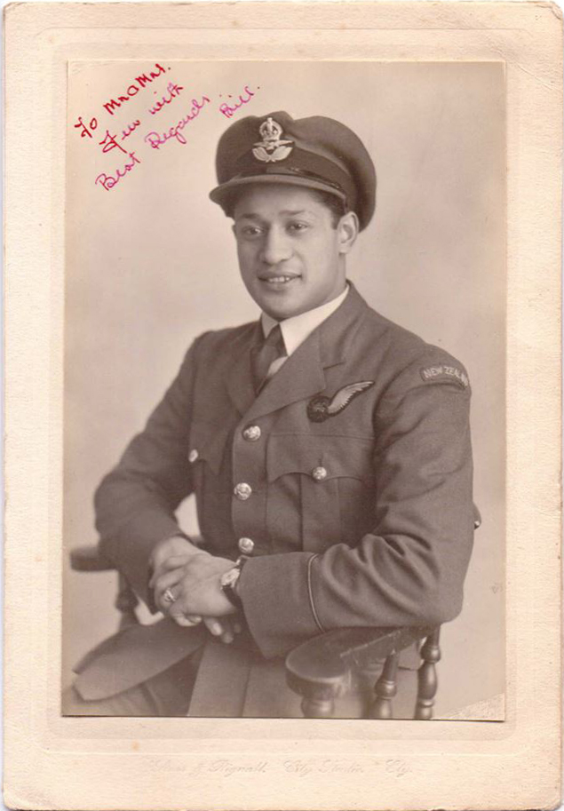 Maori aircrew serving with 75 (NZ) Squadron, 1939-45 (4/6)