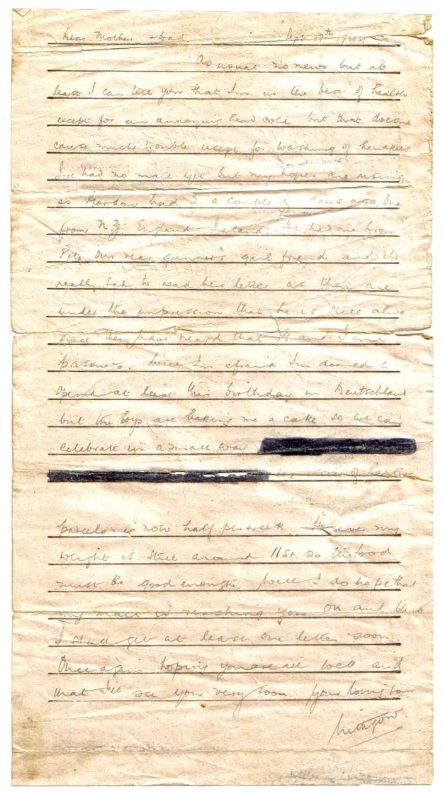 Letter POW Sept1944 B crtd