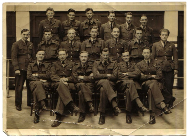 RAF ex POW Group 1945crpd