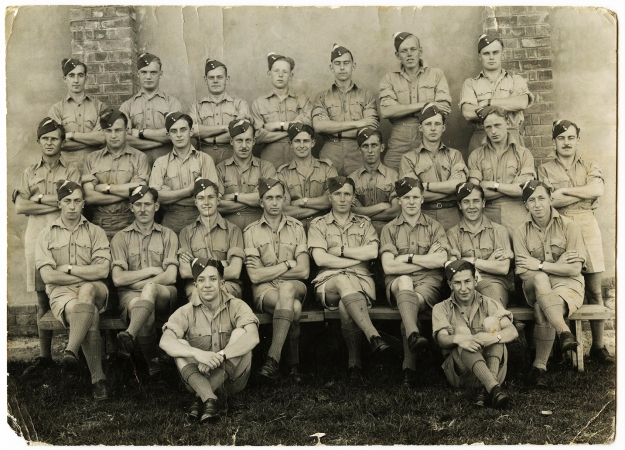 Middle row far left 41 Air School Colindale East London South Africa Training
