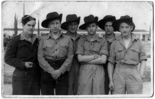 Laurie Haddock lumsden crew - is this them B&W