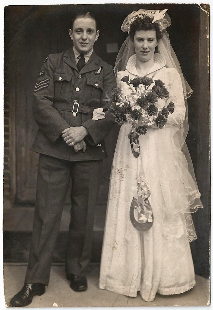 Frederick Charles Cowan wedding 1