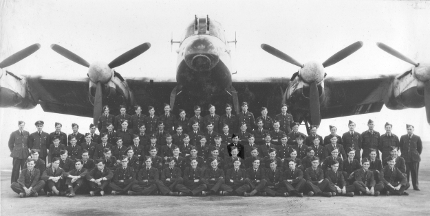 35 Squadron Goodwill Tour - Reg 3rd row from front - 7th from right under left wing
