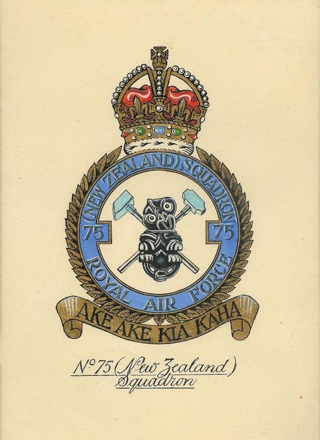 75 NZ Squadron Crest