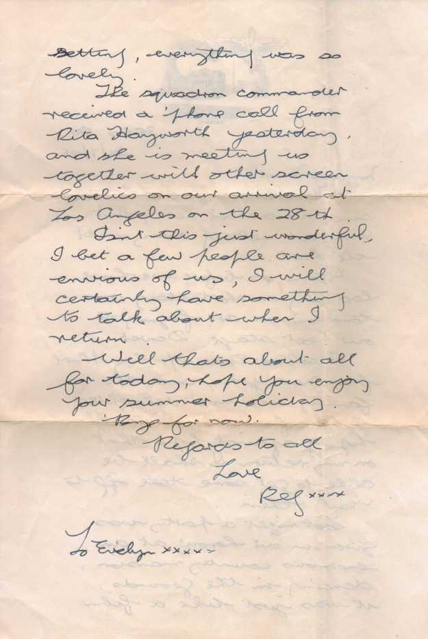 Letter July 1946 - 35 Sdn - Page 2