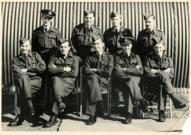 Navigators  Mepal 1944 (RCWeeden front center)