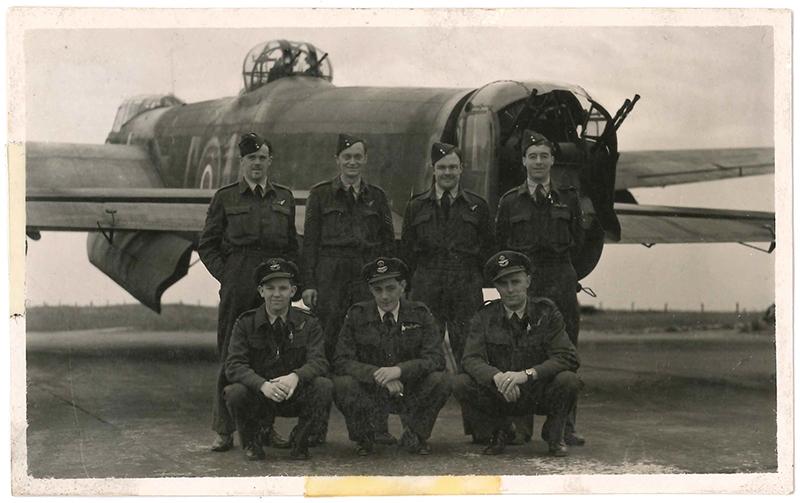 P Trevarthen crew 1945
