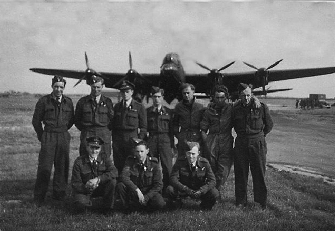 1. LANCASTER AIRCREW AND GROUNDCREW 1944cont and cropped
