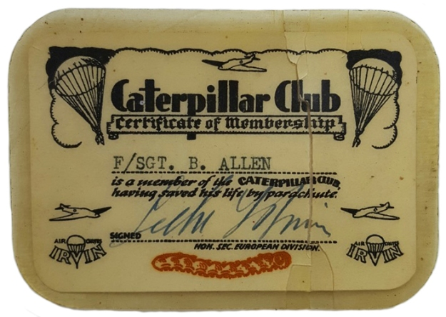 Bills catepillar club card crpd