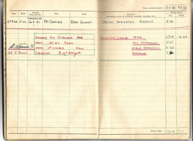 log book mcelligott 11