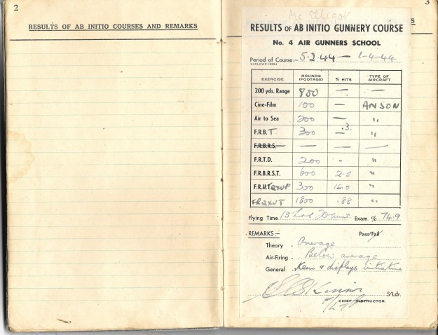 log book mcelligott 2