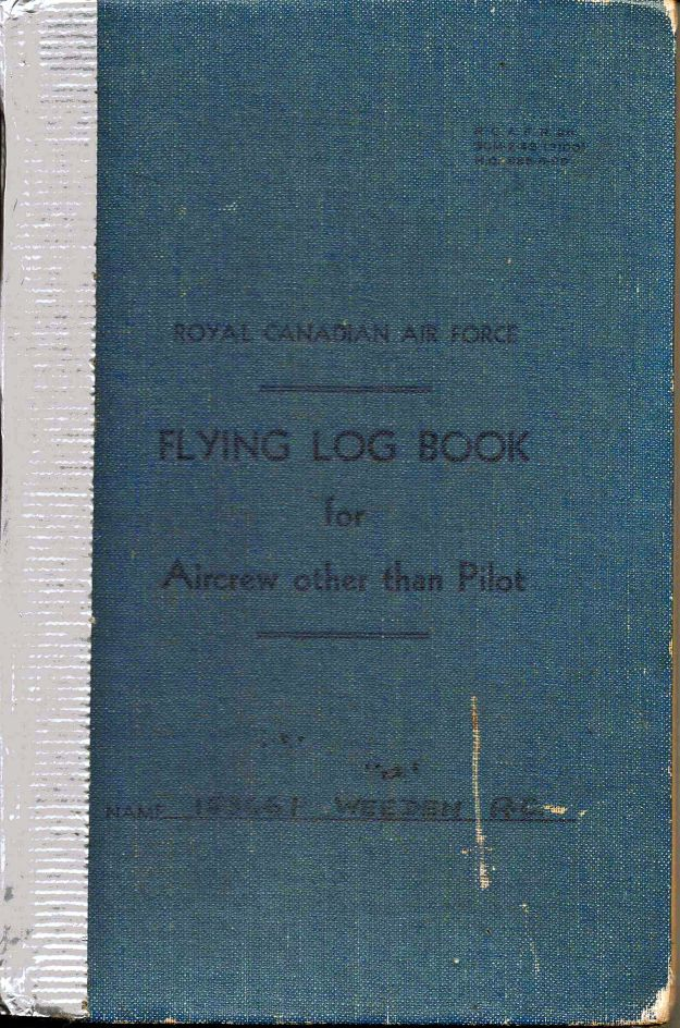 RC Weeden - Logbook - 000 Cover