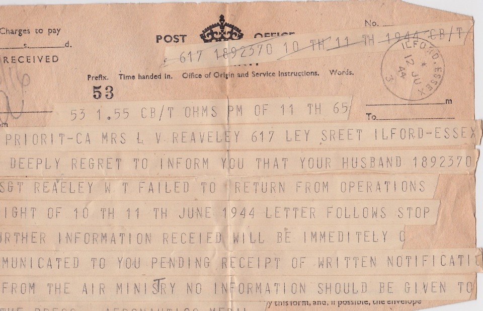 telegram-to-mrs-reaveley