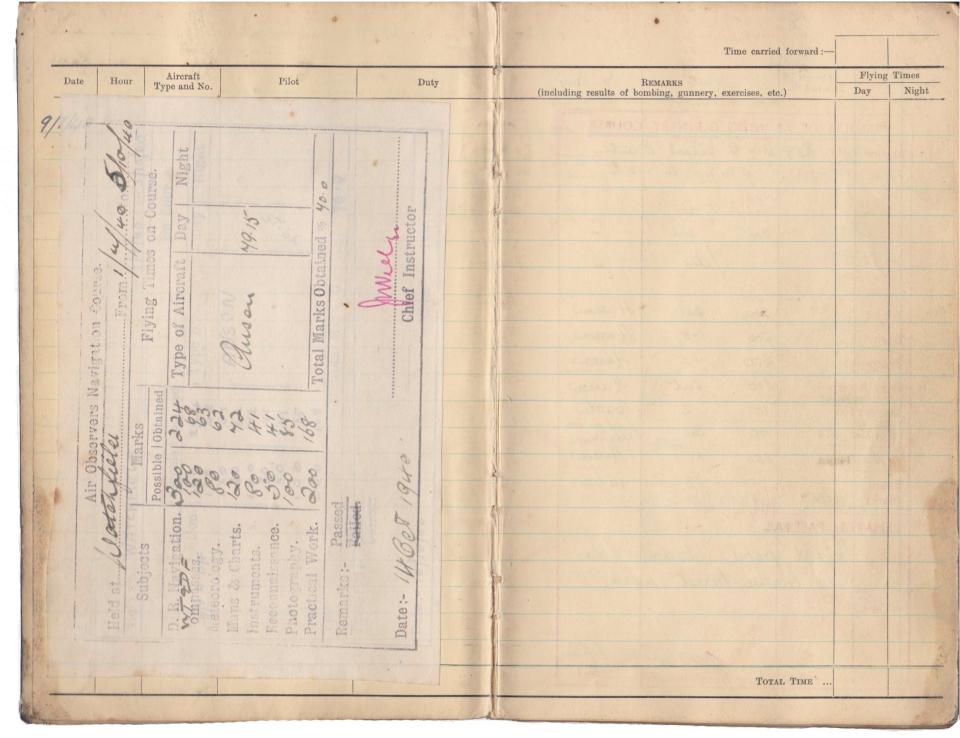 Gwyn Martin logbook 003