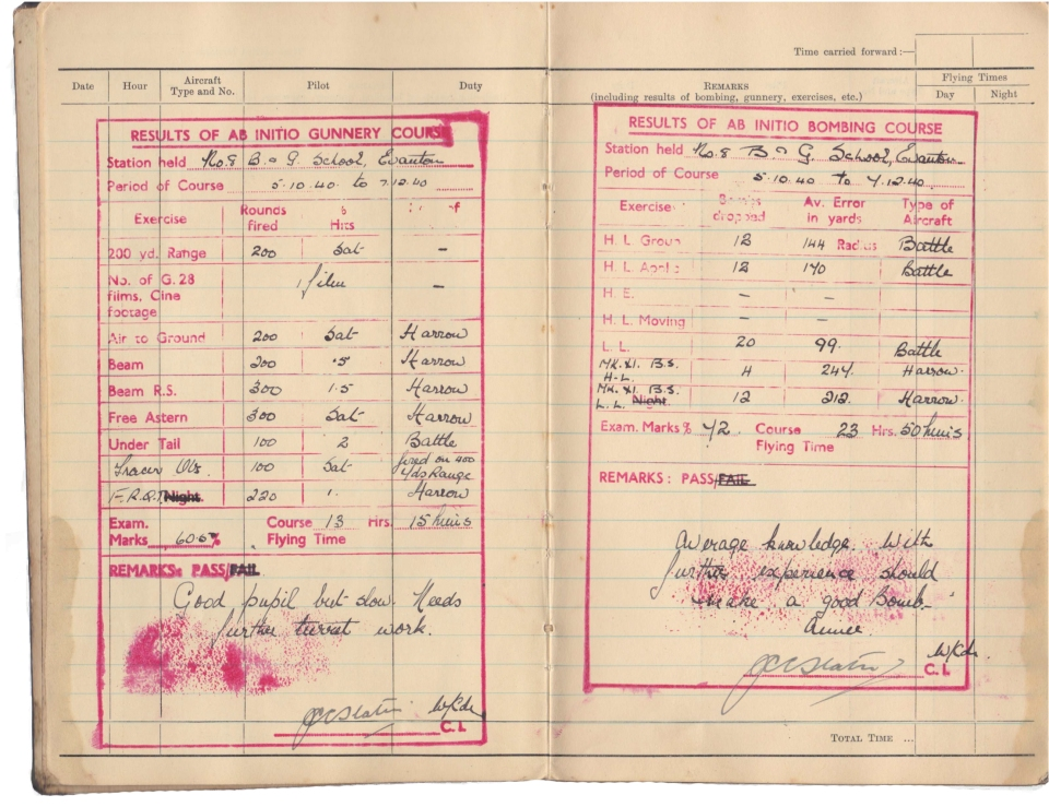 Gwyn Martin logbook 004