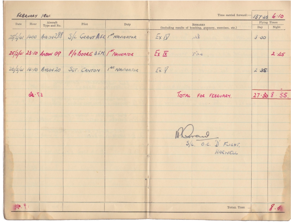 Gwyn Martin logbook 015