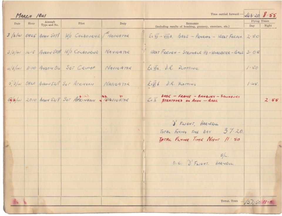 Gwyn Martin logbook 016