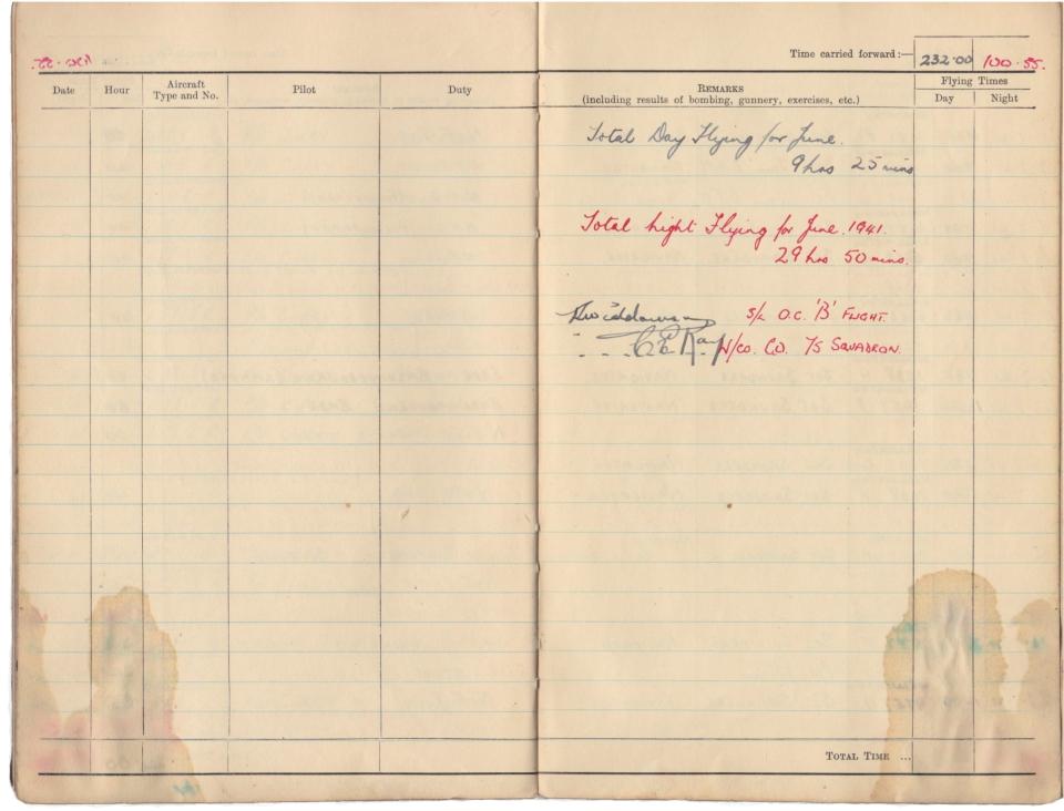 Gwyn Martin logbook 022