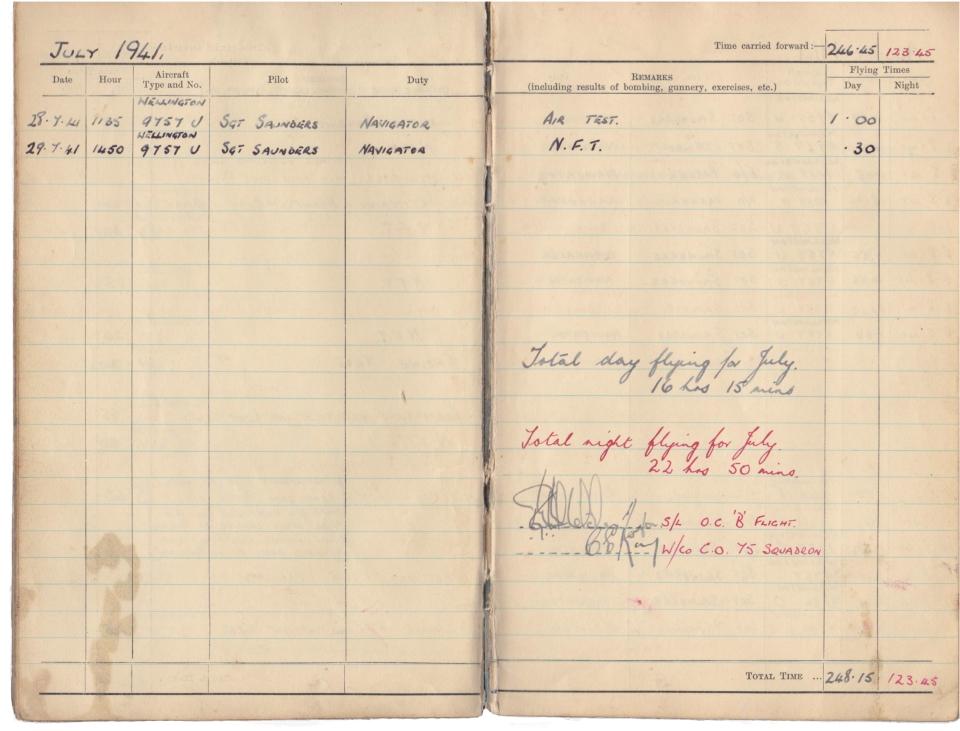 Gwyn Martin logbook 025