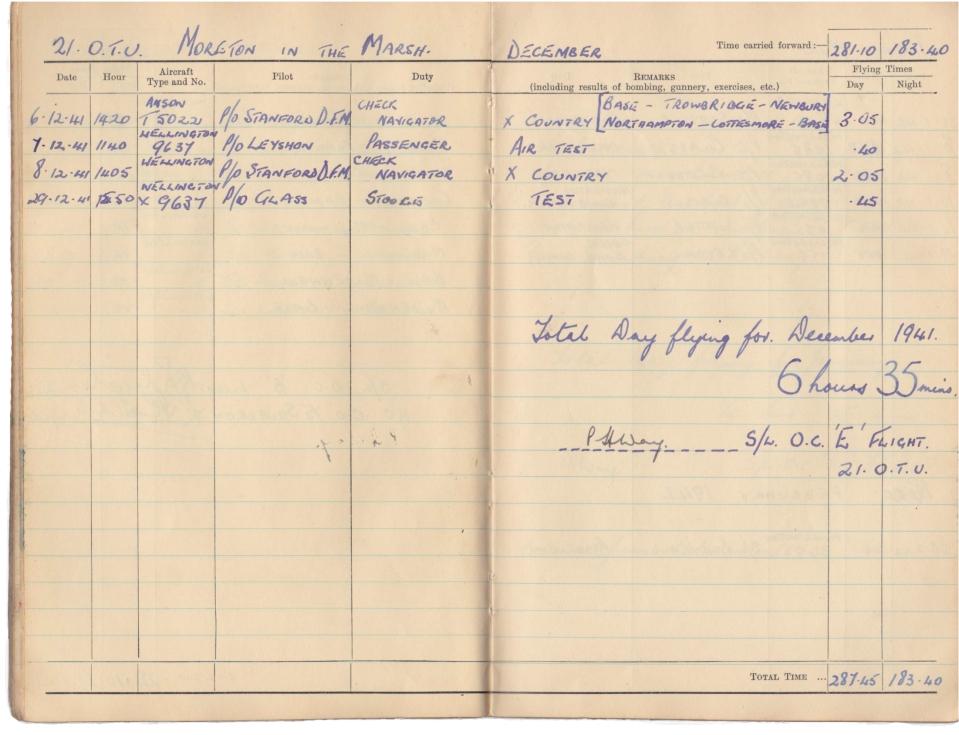 Gwyn Martin logbook 032
