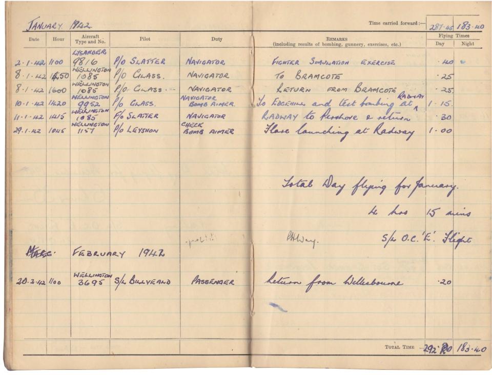Gwyn Martin logbook 033